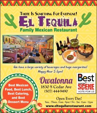 Best Mexican Food, Best Lunch, Best Catering, and Best Dessert Menu