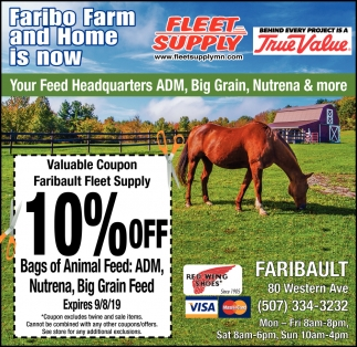 Faribo Farm and Home is now...