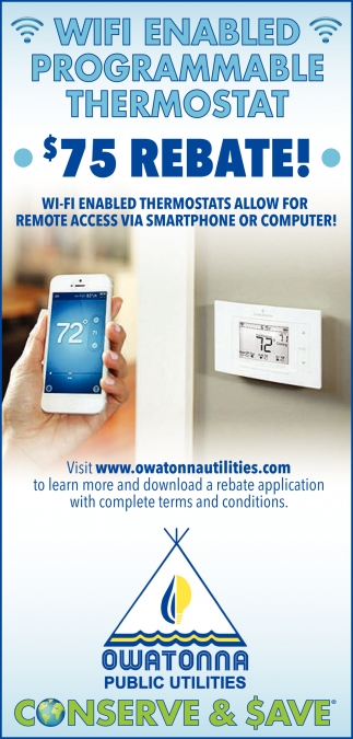 Wifi Enabled - Programable Thermostat