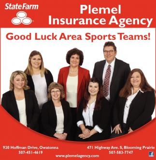 Good Luck Area Sports Teams!