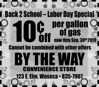 Back 2 School - Labor Day Special