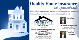 Quality Home Insurance with a personal touch