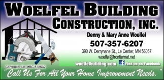 Call Us For All Of Your Home Improvement Needs