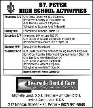 St. Peter HighSchool Activities