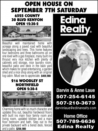 Open House - September 7th