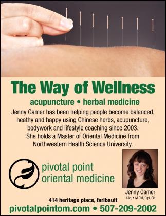 The Way Of Wellness