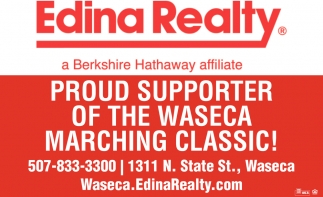 Proud Supporter of The Waseca Marching Classic!