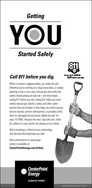 Getting You Starte Safely