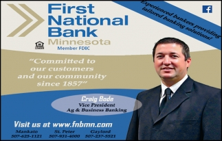 Craig Bode - Vice President Ag & Business Banking