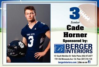 3 Senior - Cade Horner
