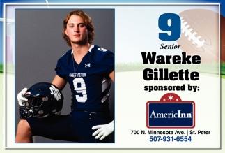 9 Senior - Wareke Gillette