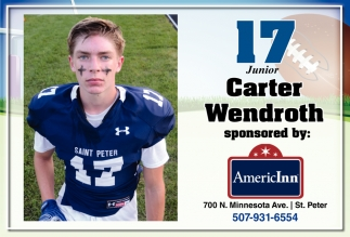 17 Junior - Carter Wendroth
