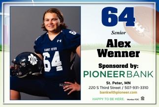 64 Senior - Alex Wenner
