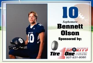 10 Sophmore - Bennett Olson