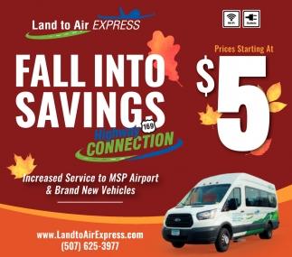 Fall Into Savings