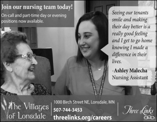 Join our nursing team today!