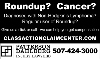 Roundup? Cancer?