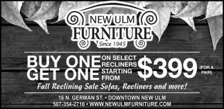 Fall Reclinig Sales Sofas, Recliners and more!