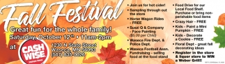 Fall Festival - October 12th