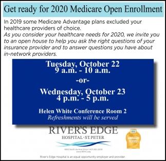 Get Ready for 2020 Medicare Open Enrollment