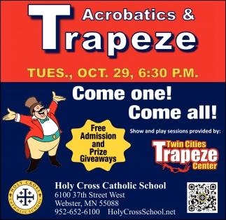 Acrobatics & Trapeze - Oct 29