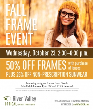Fall Frame Event - October 23