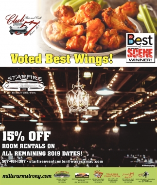 Voted Best wings!