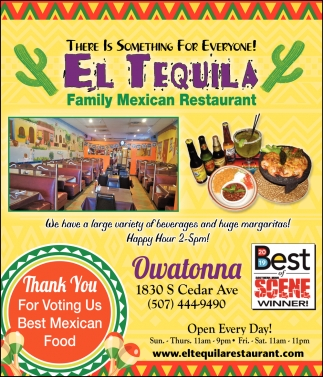 Thank You For Voting Us Best Mexican Food