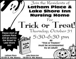 Trick or Treat - October 31