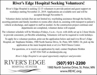 Seeking Volunteers!