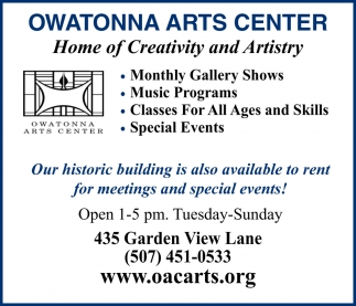 Home of Creativity and Artistry