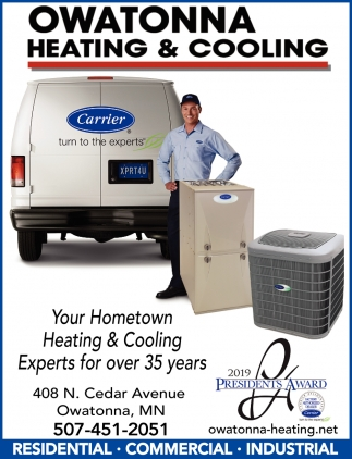 Your Hometown Heating & Cooling Experts for over 35 Years