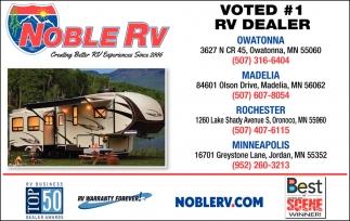 Voted #1 Rv Dealer
