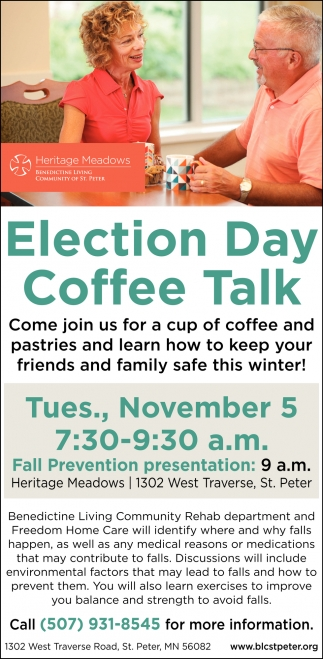 Election Day Coffe Talk - November 5
