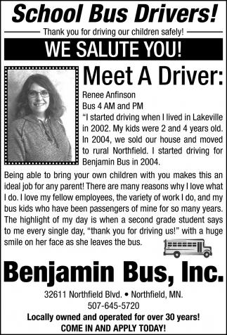 Meet a Driver: Renee Anfinson