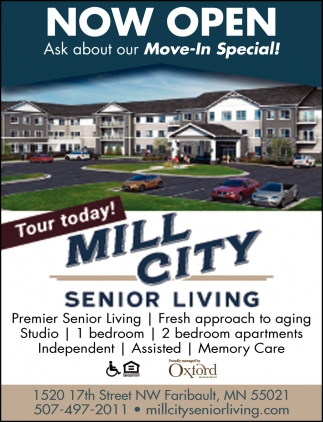 Now Open - Ask about Move-In Special