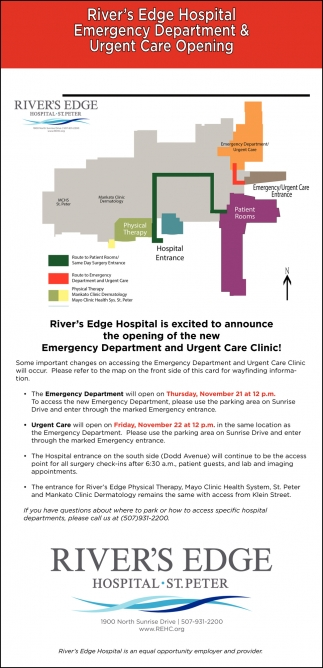 Emergency Department & Urgent Care Opening