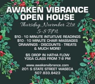 Open House - November 21st