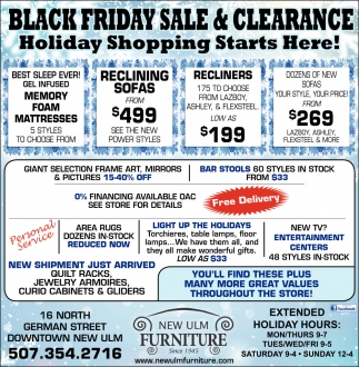 Black Friday Sale & Clearance