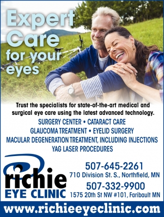 Expert Care for your eyes