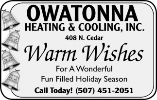 Warm Wishes for a Wonderful Fun Filled Holiday Season