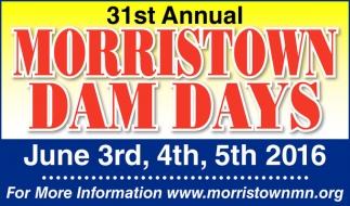 31st Annual MORRISTOWN DAM DAYS