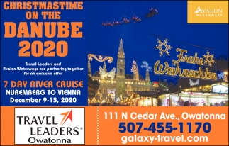 Christmas Time on the Danube 2020