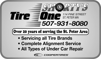 Over 20 years of serving the St. Peter Area