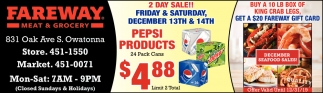 2 Day Sale! - December 13th & 14th