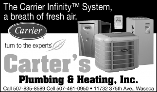 The Carrier Infinity System, a breath of fresh air