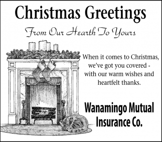 Christmas Greetings From Our Hearth To Yours