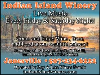 Live Music Every Friday & Saturday Night!