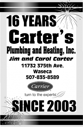 16 Years  - Since 2003