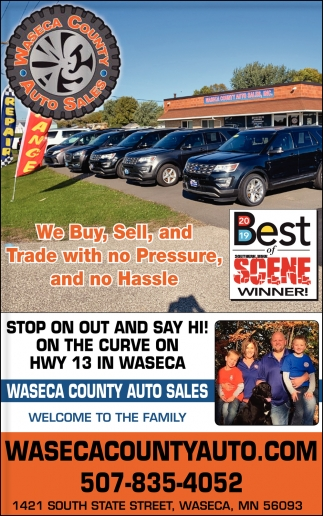 We Buy, Sell, and Trade with no Pressure and no Hassle